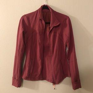 purple/magenta lulu jacket